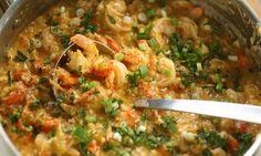 Shrimp,crab and crawfish etouffee