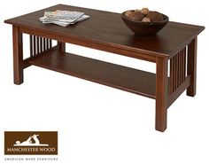 Mission Coffee Table Espresso Target 165 H x 405 W x 200