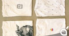 Nuove magliette vintage in vendita da Apple a Cupertino