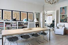 Wonderful Wire - Dining Room Ideas – Decorating, Design & Wallpaper (houseandgarden.co.uk)