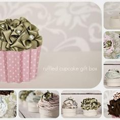 Cupcake Gift Boxes craftiness-generally