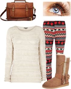 A fashion look from January 2013 featuring striped long sleeve shirt, gray pants and brown leather shoes. Browse and shop related looks. Autumn Winter Fashion, Fall Winter, Shoe Bag, Polyvore, Stuff To Buy, Shopping, Collection, Design, Women