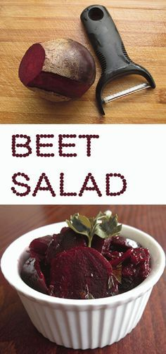 Simple to make. You'll just love this beet salad. http://www.paleodietbasics.net/easy-beet-salad-simple-and-delicious/