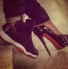 Heels & Sneakers❤                                                                                                                        Ⓙ_⍣∙₩ѧŁҝ!₦ǥ∙⍣