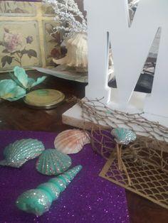 Mermaid Names, Name Decorations, Table, Ideas, Home Decor, Decoration Home, Room Decor, Tables, Home Interior Design