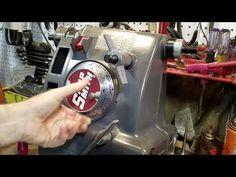 Oiling the Shopsmith Mark V headstock - YouTube