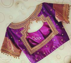 Choli Blouse Design, Cutwork Blouse Designs, Hand Work Blouse Design, Choli Designs, Bridal Blouse Designs, Hand Embroidery Designs, Embroidery Works, Blouse Patterns, Chennai