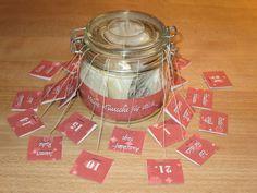 Adventskalender - TEE-ADVENTSKALENDER ♥ 24 Wünsche für 24 Teebeutel - ein Designerstück von Fotokartenundmehr bei DaWanda