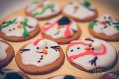 sulanut lumiukko pipari piparkakku koristelu idea