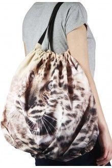Comprar bolsa-saco-estampada-com-desenho-de-leopardo-usenatureza