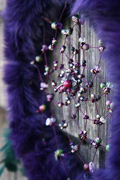 Purple witch dreamcatcher