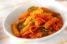 マカロニのケチャップ炒め【E・レシピ】料理のプロが作る簡単レシピ/2010.07.05公開のレシピです。