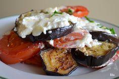 ...my little world: Zapečený baklažán s paradajkou
