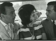 Ayhan Işık . Belgin Doruk . Sadri Alışık | Küçük Hanımefendi filminden bir kare...1961