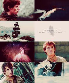 Fairytale → real life: Peter Pan Eddie Redmayne as Peter Pan