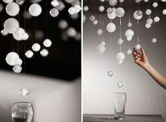 炭酸の気泡を視覚化したインスタレーションアート「Heritage Glass」 | DesignWorks デザインワークス