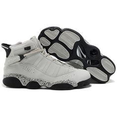 2380841611bc Cheap Nike Air Jordan Six Rings Shoes White Black