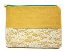 Heyday Handmade zipper pouch