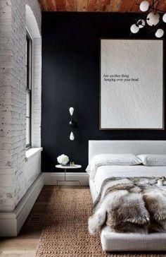 Industrial Style Bedroom Design Ideas-04-1 Kindesign