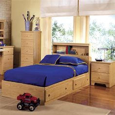 how to build a twin bed frame out of wood