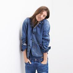 madewell denver jean jacket. #denimmadewell #denimeveryday