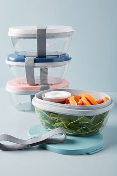 13 Anthropologie Food Storage Containers Your Desk Lunch Never Saw Coming All You Need Is, Salad Box, American Kitchen, Food Storage Containers, Plastic Food Containers, Kitchen Storage, Kitchen Organization, Kitchen Canisters, Organization Ideas