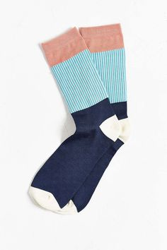 Lightweight Block Pleated Rib Sock - I'm having a sock faze...