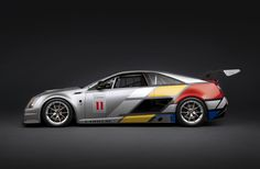 Cadillac CTS-V Coupe SCCS Race Car side view