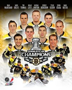 Boston Bruins - 2011 NHL Stanley Cup Champions - 8x10 Photo $4.95