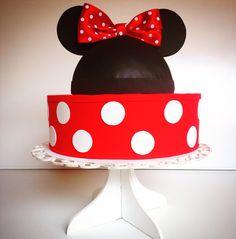 Bolo fake Minie Mouse ❤️