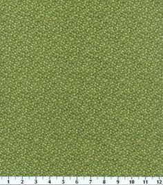 Keepsake Calico™ Cotton Fabric-Illusions Floral Olive