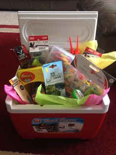 Tackle box alternative to an easter basket for the adventurous boy fishing themed easter basket negle Gallery