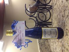 """We'll be so blue without you!""  Going away gift"