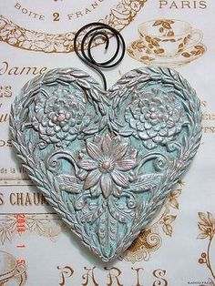 Springerle heart cookie mold ♡