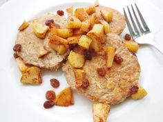 Apple cinnamon oatmeal pancakes for one -- dairy free, gluten free | Chelsea's Healthy Kitchen