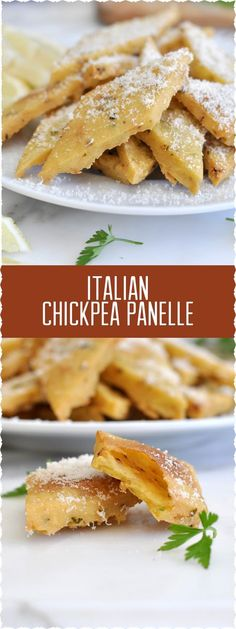 I need these scrumptious and insanely addictive Italian panelle in my life Don't you?!