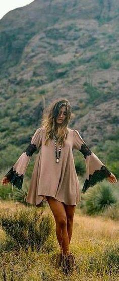 Dress boho bohemian dress