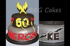 Cake – Electrician's fondant birthday cake http://www.sevenlittlemonkeys.com