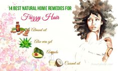 Looking for home remedies for frizzy hair? Here are 14 best natural solutions to treat this hair problem quickly.