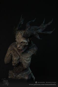 Post with 0 votes and 7151 views. Wendigo By Tom Rush Der Wendigo, Night Terror, Creepy Pictures, Halloween Town, Halloween 2020, Halloween Ideas, Forest Friends, Urban Legends, Cat People