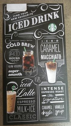 Coffee Shop Signage, Coffee Shop Menu, Coffee To Go, Coffee Shop Design, Coffee Art, Coffee Chalkboard, Chalkboard Art, Chalk Menu, Cafeteria Menu