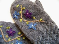 I may try to do some embroidery on my crochet projects sometime