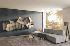LAGO #living Slide Sofa + Slide Shelf #lagodesign #interiordesign #design