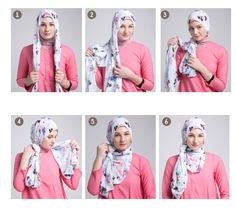 Hijab Tutorial : This is a beautiful stylish hijab tutorial for schoolgirls, it . - Hijab+ Hijab Tutorial : This is a beautiful stylish hijab tutorial for schoolgirls it Hijab Turban Style, Hijab Outfit, Muslim Girls, Muslim Women, Muslim Fashion, Modest Fashion, Hijab Fashion Inspiration, Style Inspiration, Beau Hijab
