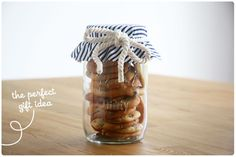 Food: Eleven More Gifts In A Jar  (1. Triple chocolate chip cookies. Via Made From Scratch)