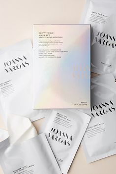 Joanna Vargas Glow-To-Go Mask Set by in Silver Size: All, Bath Body at Anthropologie Anti Aging Face Mask, Instant Lifts, Hydrating Mask, Skin So Soft, Smooth Skin, Mask Design, Facial Masks, Good Skin, Bath And Body