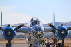 B-25 at Livermore, CA.  www.westcoastwheelsevents.com