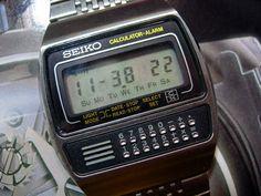 classic calculator watch