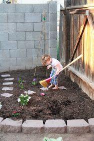 Five Little Homesteaders: Creating a Children's Garden