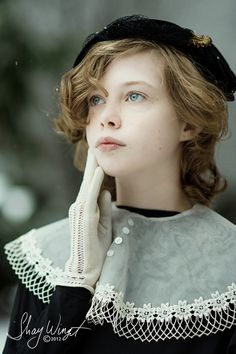 Vintage styled  Angel in the Snow